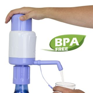 BPA Free Manual Hand Drinking Water Pump Fit Any Gallon Bottle Jug Dispenser