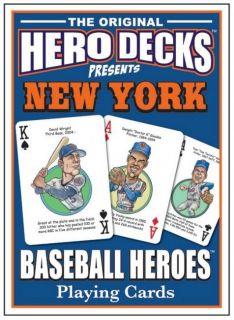 New York Mets MLB Baseball Collectible Cards Fans Hero Decks
