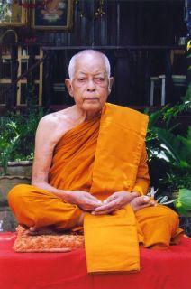LP Nuan Wat Saira Roop Lor Statue Model Metta Mahalarp Be 2548 Thai Amulet