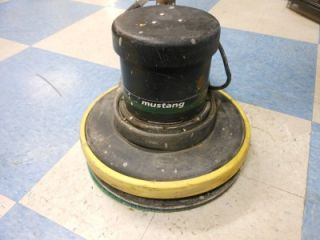 "NSS Mustang 17"" Electric Floor Scrubber Buffer Polisher Burnisher w Pad"