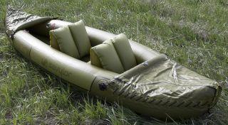 Brand New Sevylor Tahiti 2 Person Hunting Fishing Inflatable Kayak Boat Raft