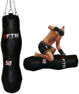 Auth RDX Leather Large Grappling Dummy MMA Punch Bag