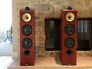 703 Rosenut Floor Standing Speakers Bowers Wilkins 700 Series