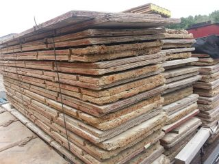 Lot of Used Wood Concrete Forms Symons for Sale Cheap Start