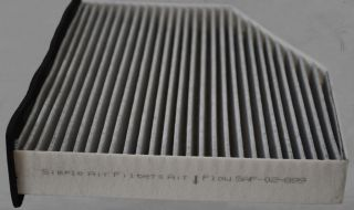 2007 2010 2011 VW Golf Cabin Air Filter Carbon