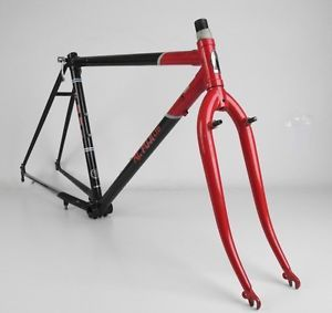 Vintage 1986 Fuji MT Fuji Ltd Lugged Steel Mountain Touring Bike Frame 700c