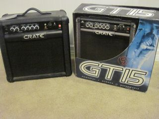 "Crate GT15 Electric Guitar Amplifier 8"" Speaker"