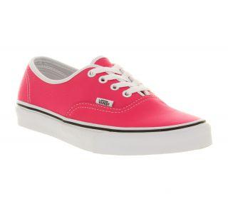 Neon Pink Vans Shoes