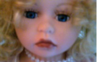Haunted Doll Unknown Energy Pretty with A Rocking Chair Porcelain Doll