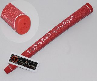 Scotty Cameron Red Titleist Cord Golf Putter Grip N for Tour Use Only Shaft Band