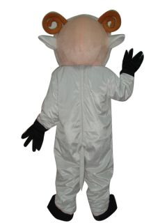Little Sheep Cartoon Mascot Costume Clothing Adult Size