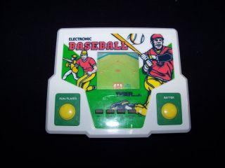 Baseball LCD Tiger Electronics 1988 Handheld Electronic Game Tested