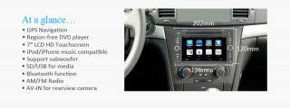 Indash Car DVD Player Radio Stereo GPS F Chevrolet Epica Lova Captiva Aveo