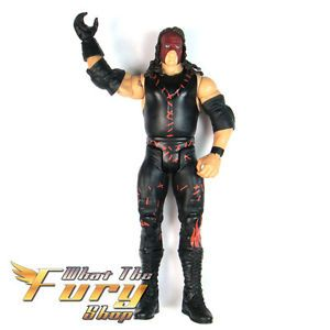 WWE Wrestling Big Red Machine Kane Mask Wrestler Action Figure Kids Child Toy