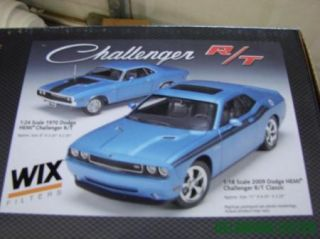 70 Years WIX Filters Challenger R T 1 24 1 18 Scale Metal Die Cast Hemi Car Set