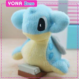 Cute Pokemon Pikachu Plush Toys Dragon Stuffed Animal Dolls for Kids Lapras