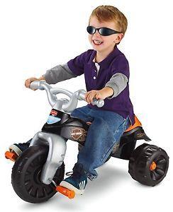 New Fisher Price Harley Davidson Motorcycle Trike Ride on Toy 3 Wheel Bike Kids