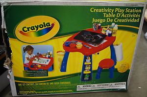 Crayola Creativity Play Station Table for Kids Children Toys Arts Crafts Artist