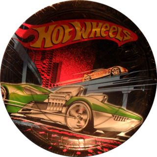 New Hot Wheels Race Cars Birthday Party Small 7 inch Dessert Cake Paper Plates