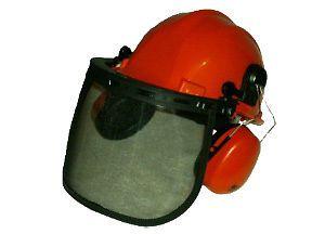 Chainsaw Brushcutter Safety Helmet Hard Hat Ear Defenders Stihl Husqvarna