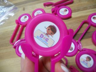 12 Doc McStuffins Disk Shooters Birthday Party Favor Treat Awards Goodie Bags