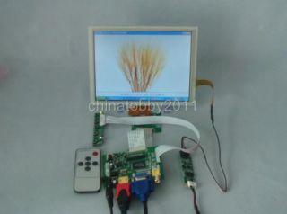 HDMI VGA 2AV Driver Board 8inch 1024 768 EJ080NA 04C LCD Touch Panel Remote