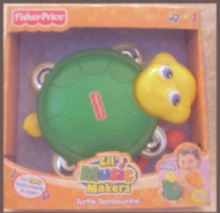 New Fisher Price Lil Music Maker Toy Turtle