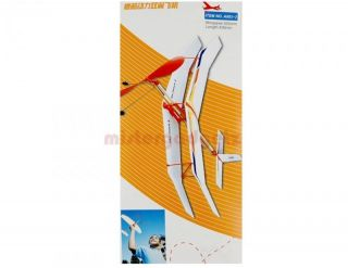 Rubber Band Powered Glider Sky Touch II DIY Aircraft Plane Kit Model Kids Toy
