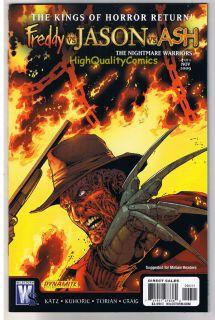 Freddy vs Jason vs Ash 1 2 3 4 5 6 NM Nightmare Warriors Army of Darkness A
