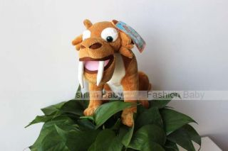 "Saber Toothed Tiger Diego ""Ice Age 3"" Stuffed Plush Doll Toy Kids Birthday Gift"