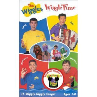 Wiggles The Wiggle Time VHS Jeff Greg Anthony Murray