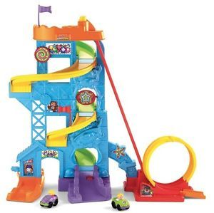 Fisher Price Wheelies Loops 'N Swoops Amusement Park Preschool Toys Child Kids