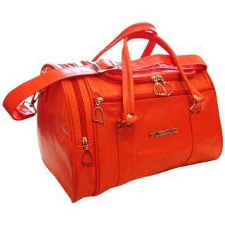 Head St Moritz Weekend Overnight Travel Holdall Sports Gym School Bag Tangerine