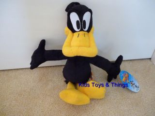 Looney Tunes Daffy Duck Plush Soft Toy 35cm BNWT