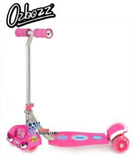 Ozbozz Bizzy Bug 4 Wheeled Push Scooter Toy Kids Children's Boys Girls