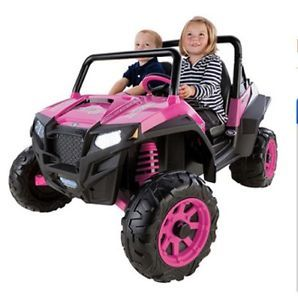 Kids Electric Car Power Wheels Yard Toy Automatic Grass Dirt Battery Traction