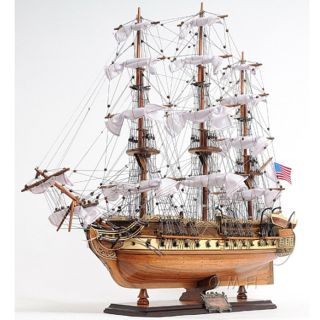 Details about USS Constitution Wooden Ship Model, from Brookstone