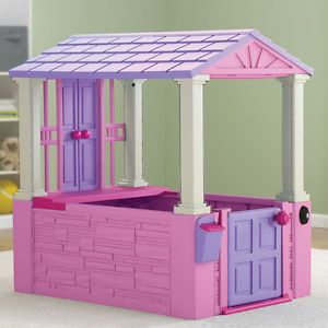 New Play Tent House Kids Girls Indoor Princess Castle Outdoor Playhouse Pink Toy