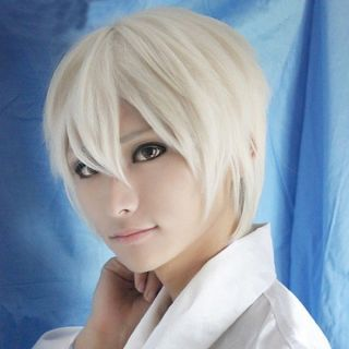 Hot Sell Axis Powers Hetalia APH Russia Ivan Short Light Gold Party Cosplay Wig