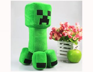 New Minecraft Creeper Character Plush Soft Toy Stuffed Animal Doll Green Monster