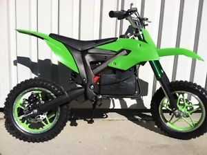 Kids Ride on Toy Battery 24V Powered Mini Green Dirt Bike Motorcycle Electric
