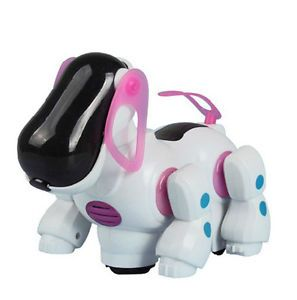 Robotic Lovely New Electronic Walking Pet Dog Puppy Kids Toy with Music Light