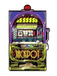 Casino Night Theme Party Slot Machine Cut Out 35""