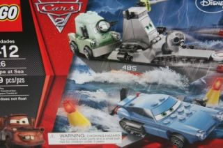 New Lego Disney Pixar Cars 2 8426 Escape at Sea Submarine Finn Professor Z
