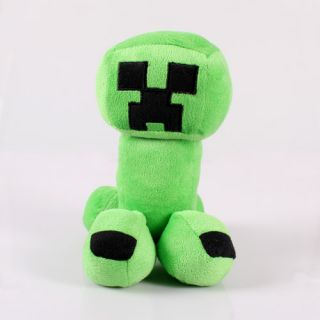"11 7""30cm Minecraft Creeper Character Plush Soft Toy Stuffed Doll Green Monster"