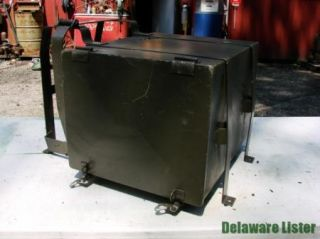Military Truck Unimog Heater Storage Box Assembly New