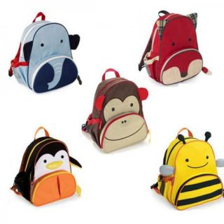 Hot Cute Kids' Backpack Shoulders Bags Animal Zoo Cartoon Backpacks School Bags