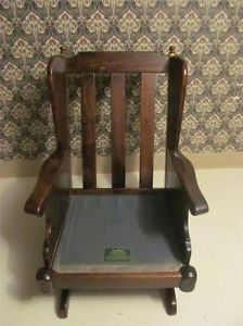 ... Ethan Allen Rocking Chair Antiqued Old Tavern Pine Framed Rocker 7630  ...