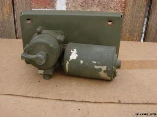 Military Truck M151 Mutt A2 Jeep Electric Windshield Wiper Motor