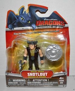 "New Dragons Defenders of Berk 3"" Dragon Trainer Snotlout Mini Figure Toy"